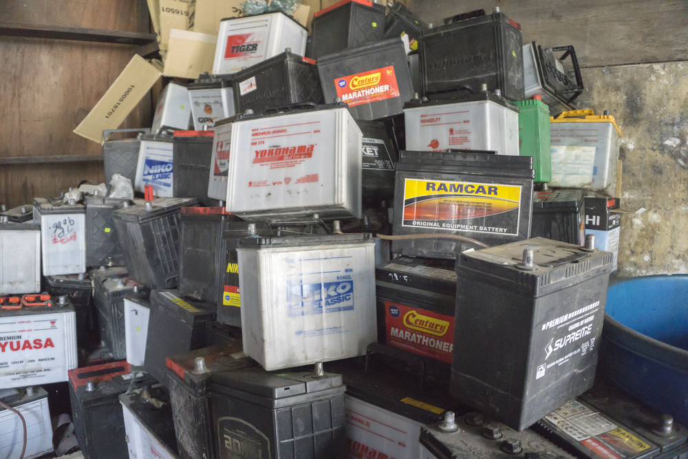 Industrial Batteries Recycling